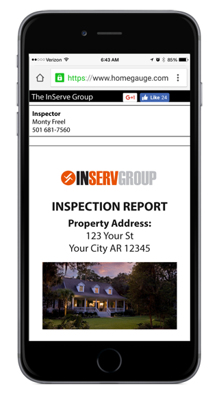 HomeGauge Digital Report Home Inspection Report